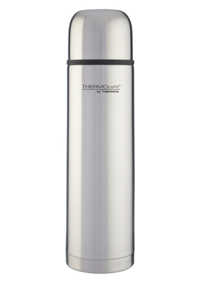 Thermos Thermocafe Stainless Steel Flask, 0.5L et 01L